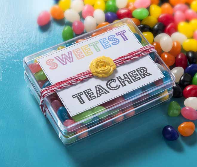 diy teacher gift with candy and mod lodge
