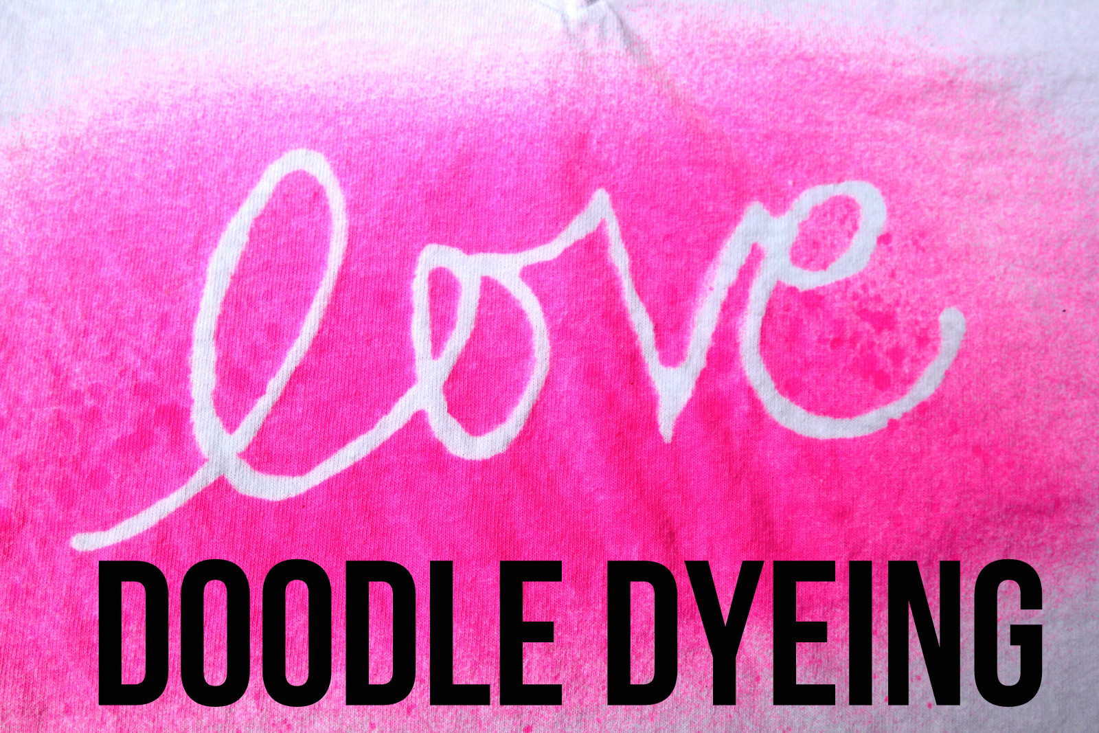 doodle dyeing