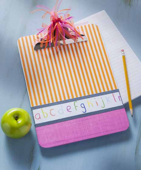 Decorate A Clipboard For Your Teacher Cathie Filian Steve Piacenza