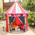 Ikea Hack! Make a Boho Play Tent from the CIRKUSTÄLT Tent