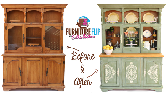 YouTube FF French Country Hutch