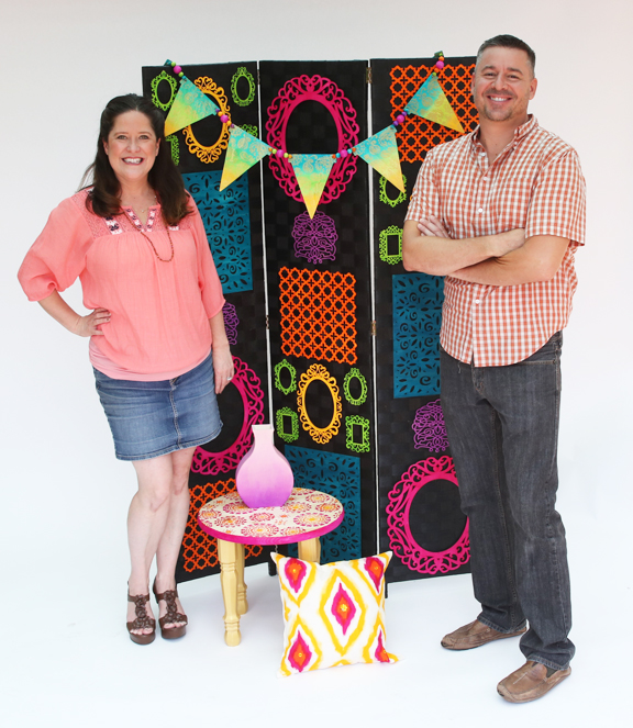 cathie and steve ultra dye boho decor