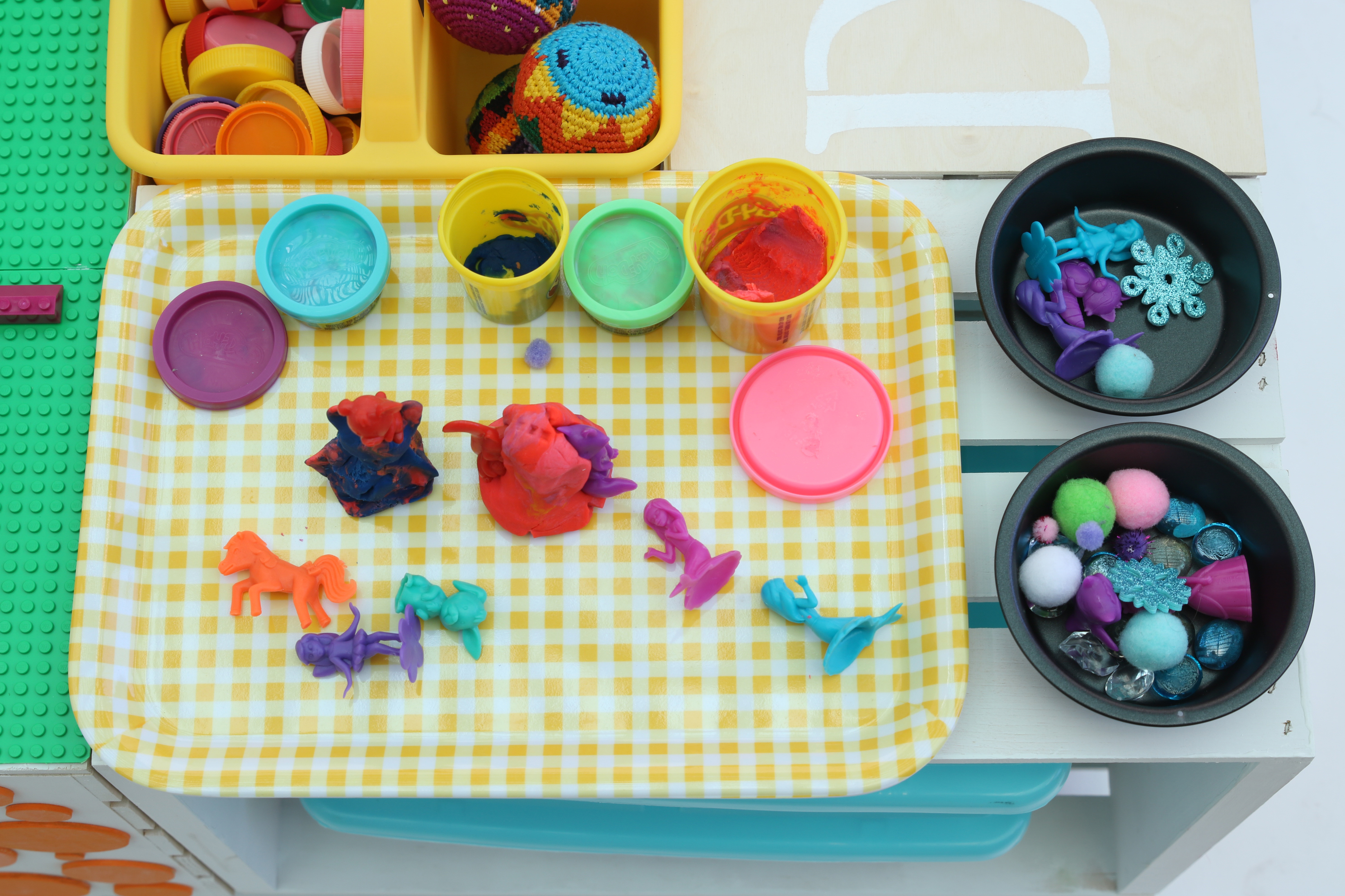table top play-doh