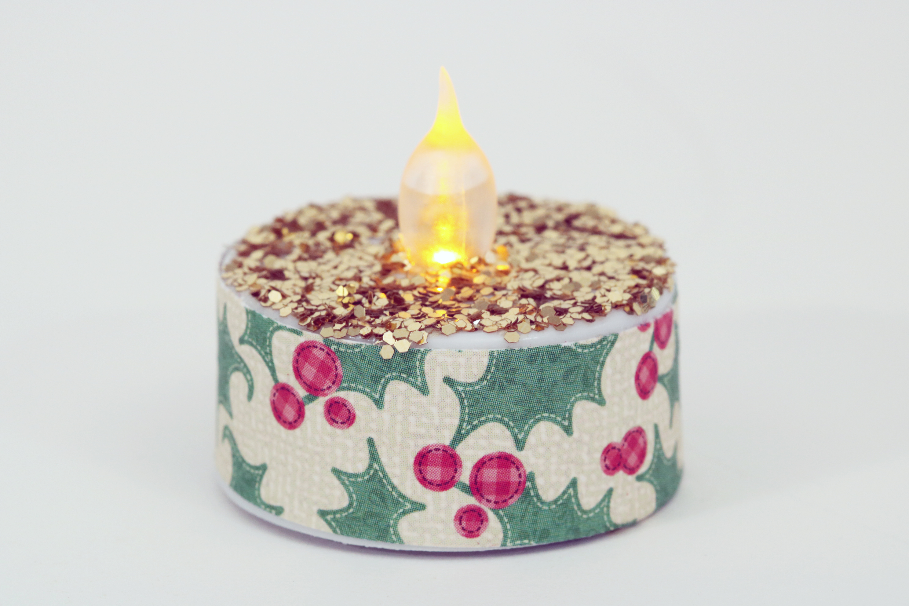 glittered-tea-light-single