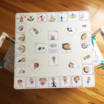 Make a Kids Table with Children's Art