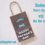 Make a Custom Gift Bag for Father's Day with Mod Melts and Molds