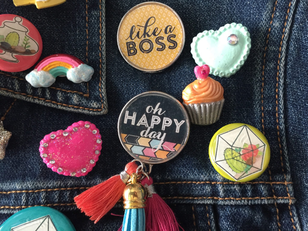 3 Ways To Make Your Own Flair Pins Cathie Filian Amp Steve