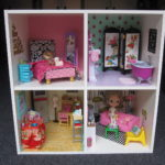DIY Dollhouse from an Ikea Bookshelf