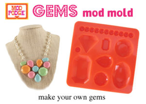 Learn About the Mod Podge Gems Mold