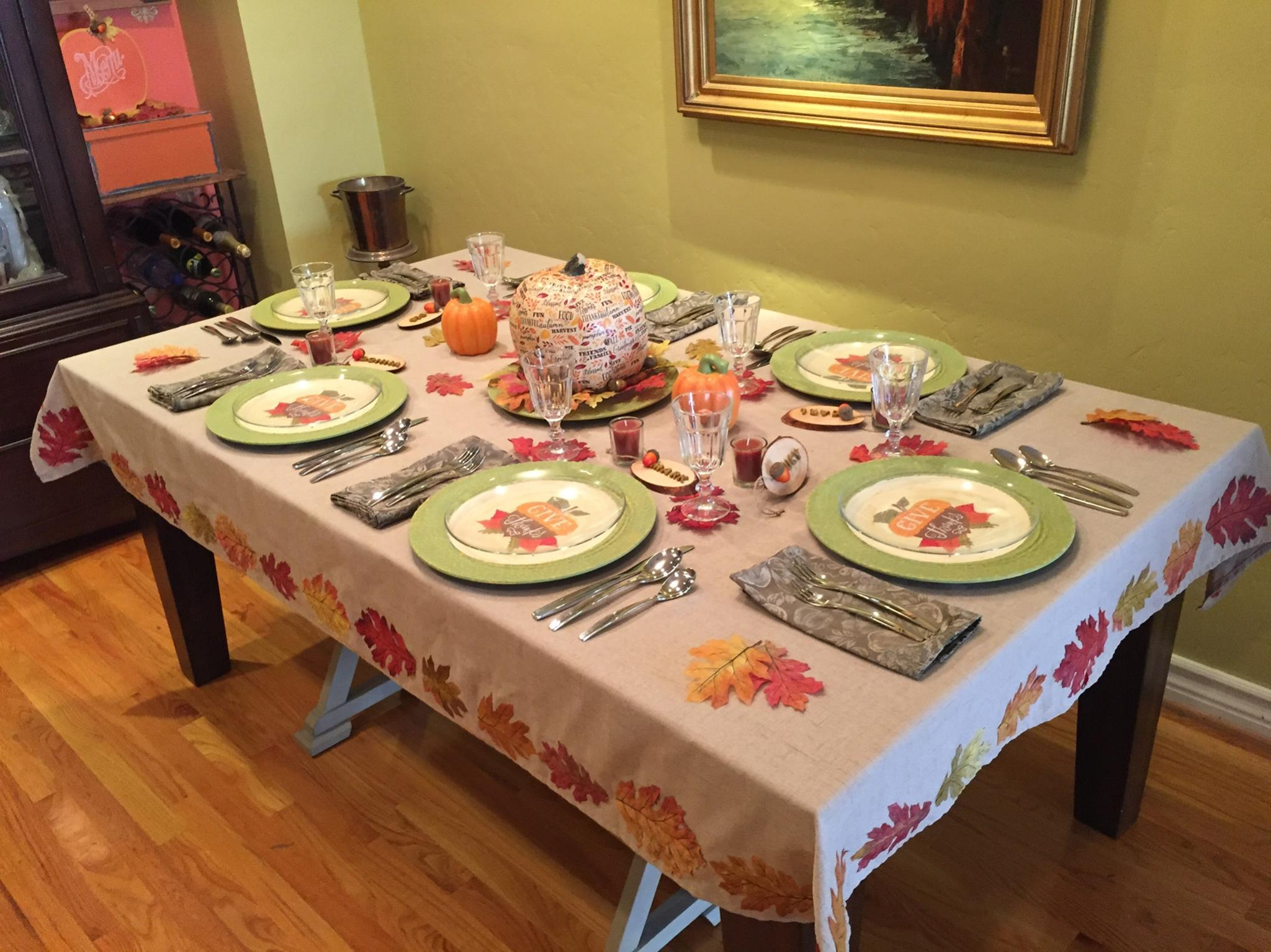 Setting a Thanksgiving Table Ideas and 6 Crafts & Setting a Thanksgiving Table Ideas and 6 Crafts - Cathie Filian ...