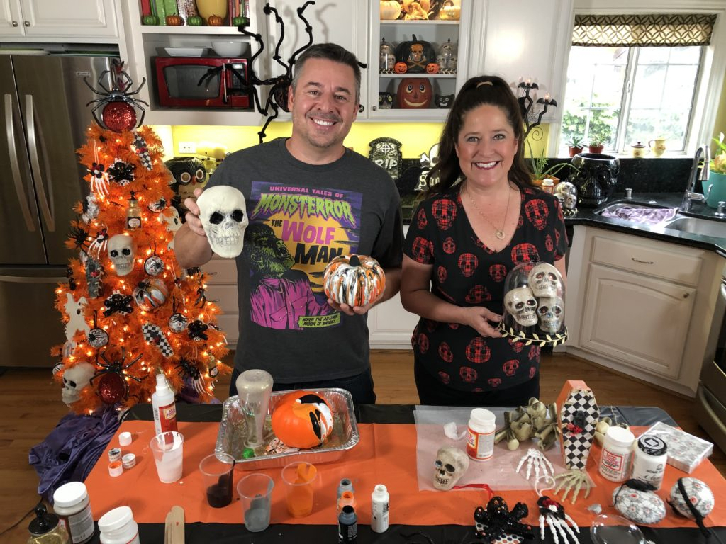 Halloween Tree And 12 Ornaments To Make With Mod Podge Handmade Happy Hour