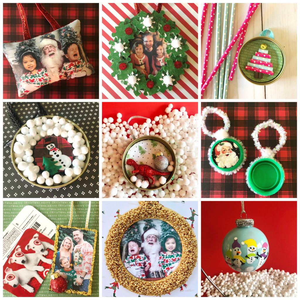 10 Christmas Ornaments To Make With Family Photos
